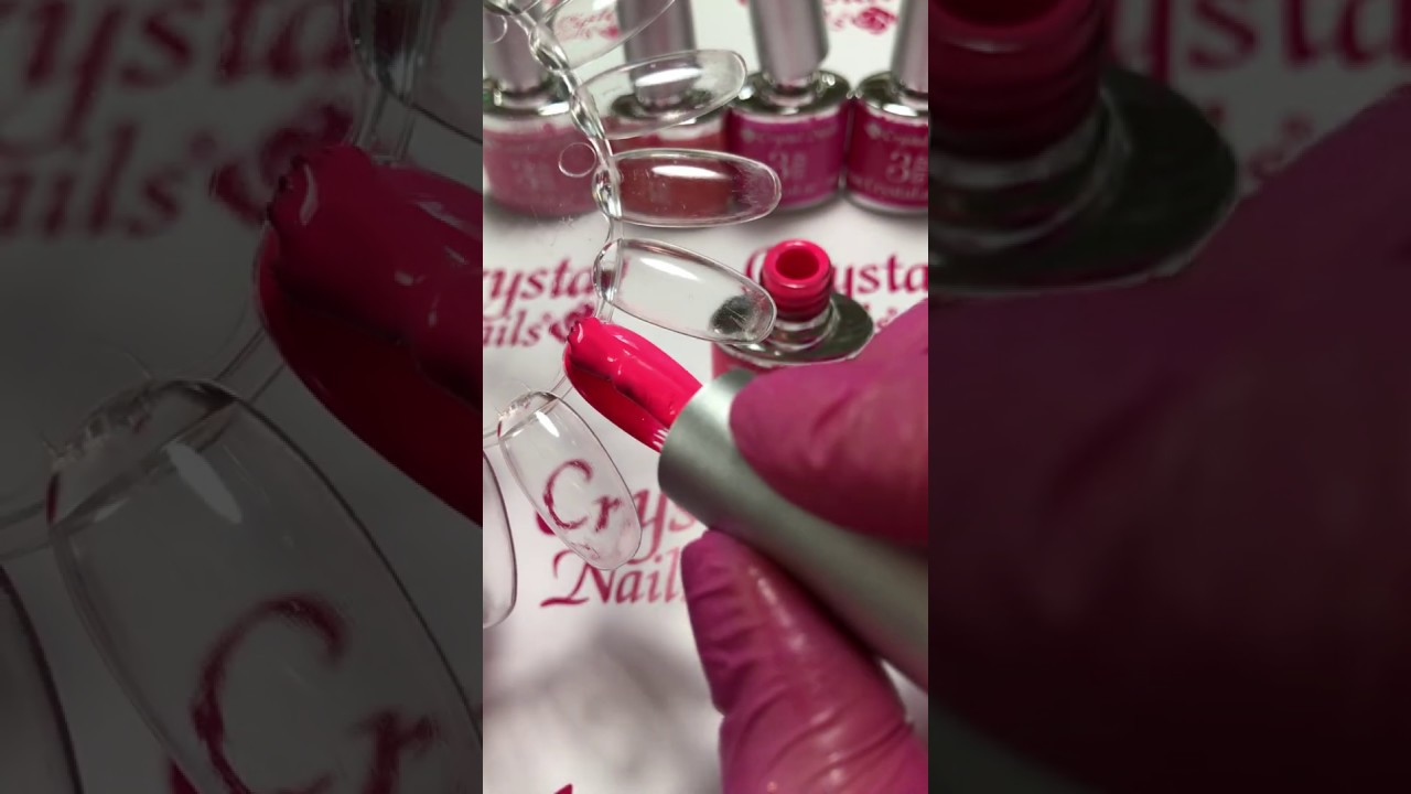 Crystal Nails Crystalac 3s106 Youtube