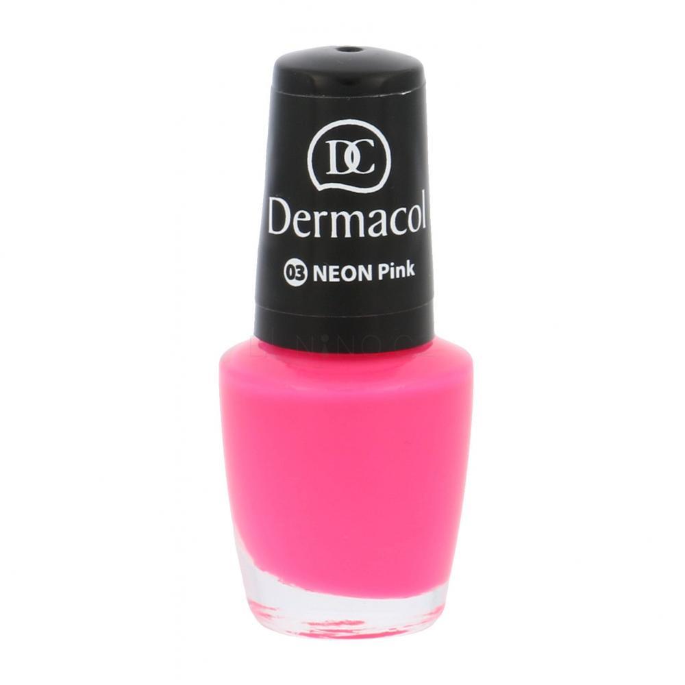 Dermacol Neon Lak Na Nehty Pro Zeny 5 Ml Odstin 03 Pink Elnino Cz