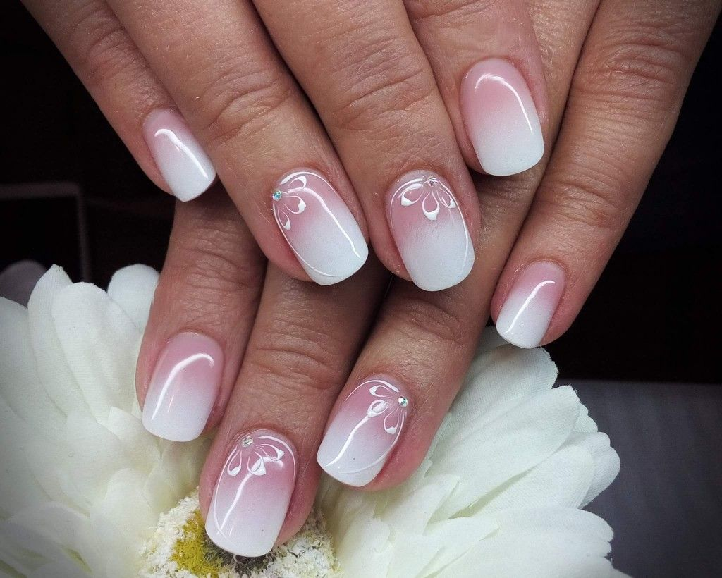 Pin By Rita Dicenty On Kormi French Tip Nails Fun Nails Ombre Nails