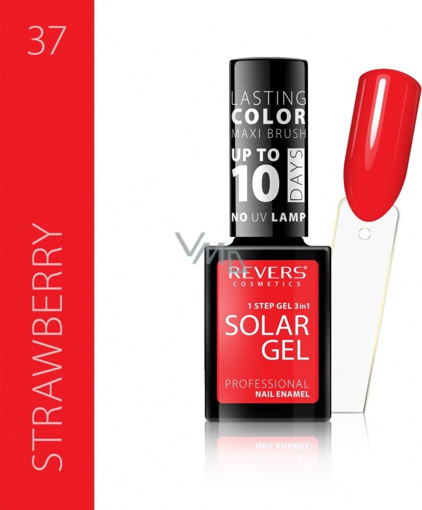 Revers Solar Gel Gelovy Lak Na Nehty 37 Strawberry 12 Ml Vmd Drogerie A Parfumerie