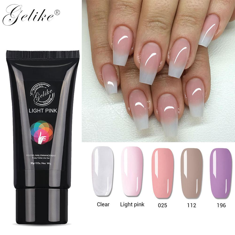 Gelike 30g Poly Gel Builder Gel Lak Nail Builder Poly Gel Polish Primer Base Top Coat French Extension Covergirl Xl Nail Gel Gel Nail Courses From Shuangyin1997 10 51 Dhgate Com