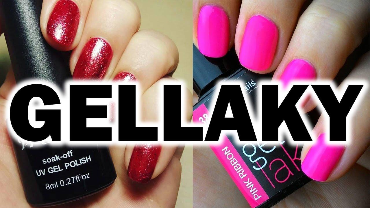 Gellaky Z Aliexpressu A Rocklacky Od Enii Nails Youtube