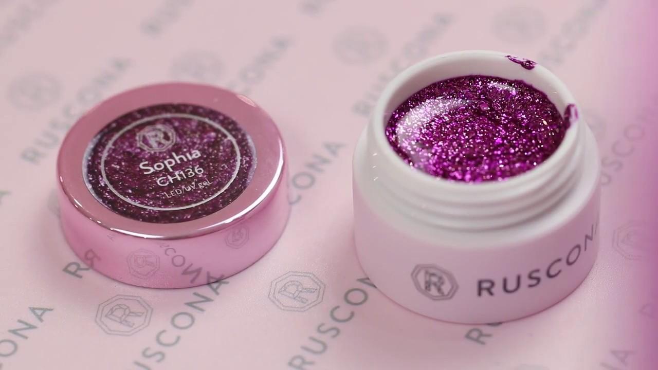 Premium Big Glitter Gels By Ruscona Made In Swiss Youtube