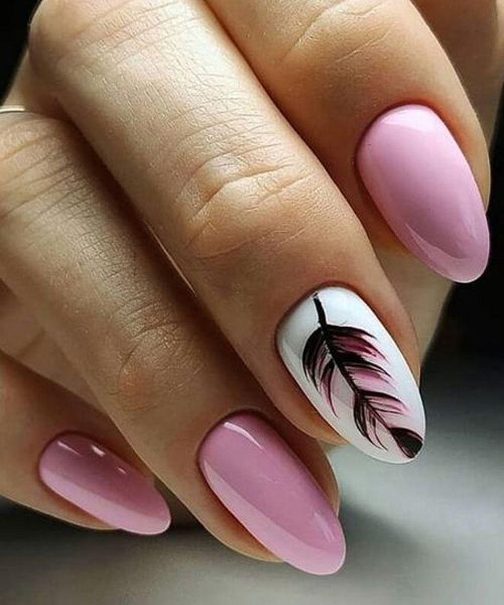 35 Impressive Pink Nail Art Designs Ideas Zelene Nehty