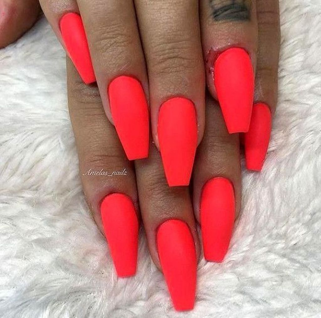 30 Cool Nail Acrylic Designs Ideas To Wear This Summer Short Acrylic Nails Trendy Nails Fake Nails