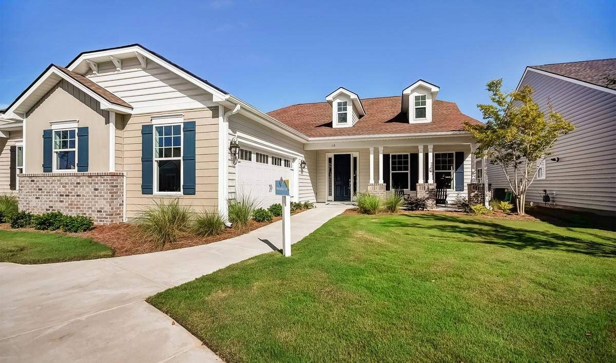 K Hovnanian S Four Seasons At Lakes Of Cane Bay New Homes In Summerville Sc Summerville New Homes New Homes For Sale