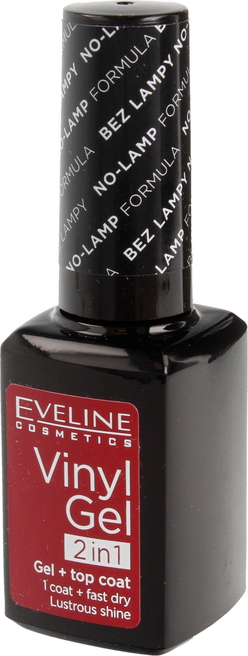 Eveline Eveline Vinyl Gel 2in1 Lakier Do Paznokci Winylowy Nr 221 12ml W Amfora Pl