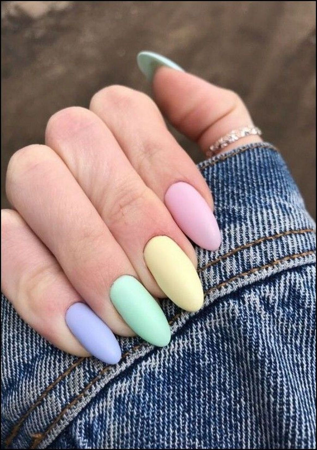 30 Casual Acrylic Nail Art Designs Ideas To Fascinate Your Admirers In 2020 Pastelove Nehty Gelove Nehty Design Nehtu