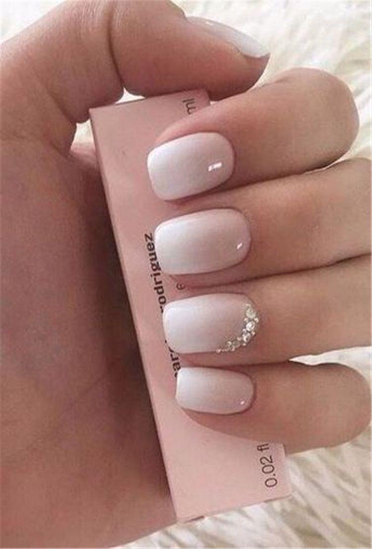 85 Fabulous Spring Square Nail Designs To Make You Shine Page 52 Of 85 Barva Nehtu Pekne Nehty Gelove Nehty