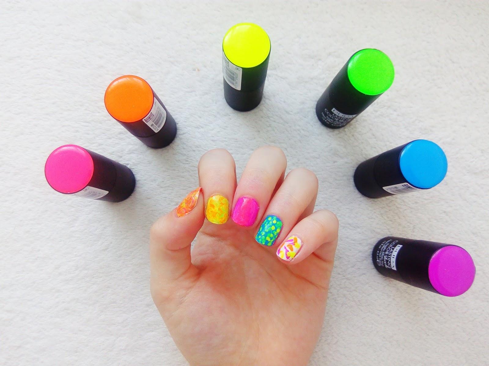 Nails By Dominika Pupa Lasting Color Shock 4 Nail Arts