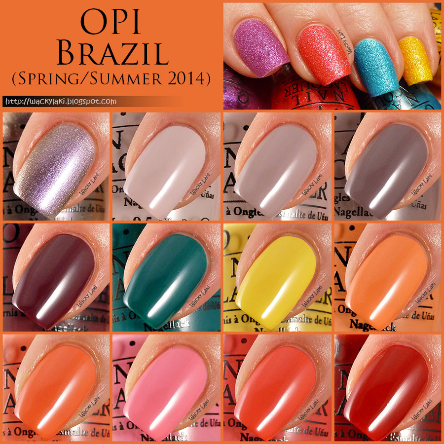 Wacky Laki Opi Brazil Swatches And Review