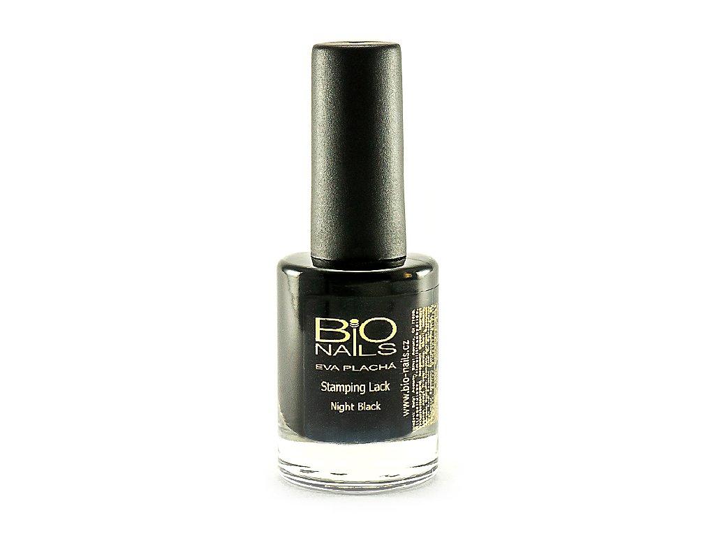 Lak Pro Razitka Cerny 11ml Bio Nails