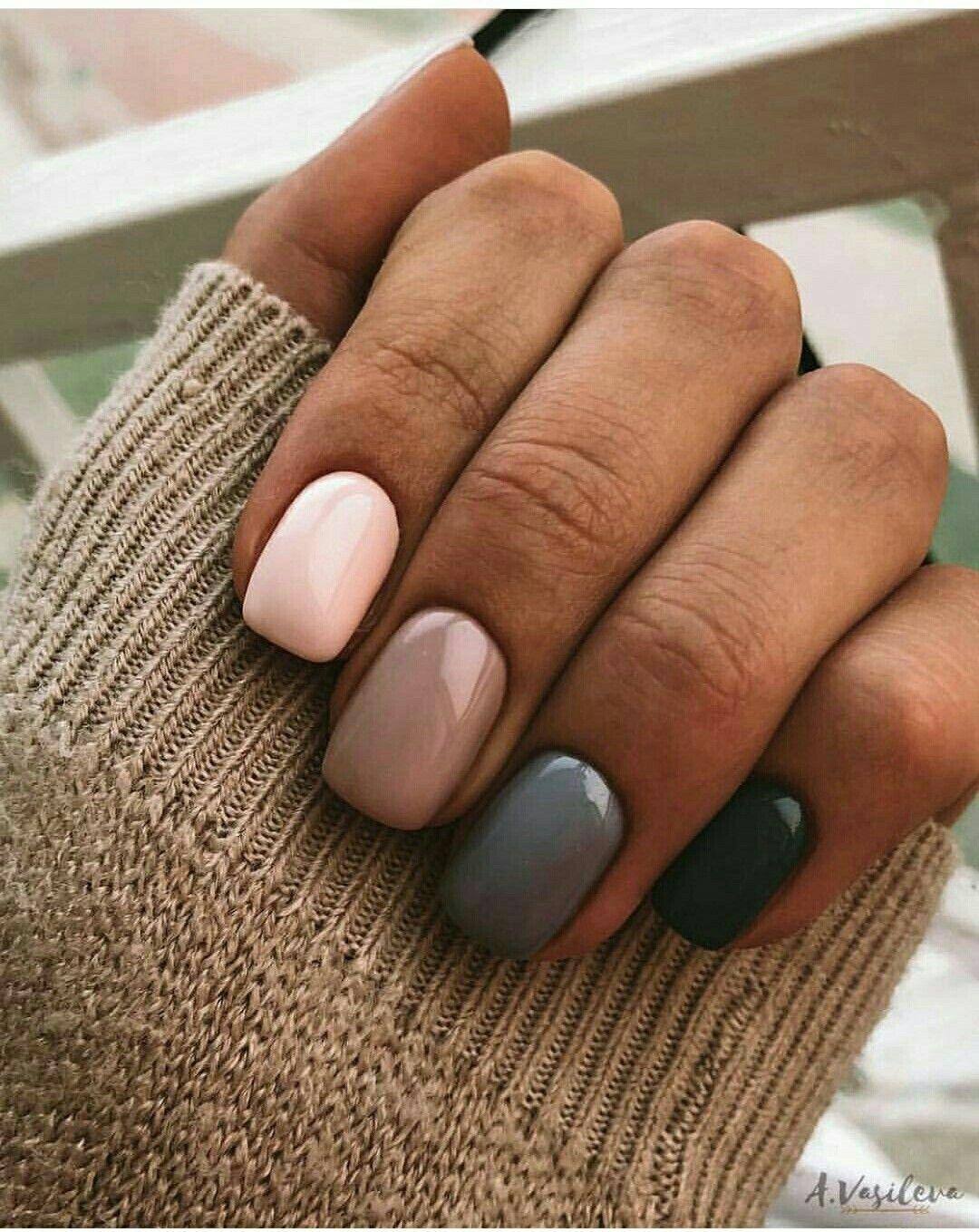 Pin By Dominika Brabencova On Idei Dizajna Nogtej Gorgeous Nails Neutral Nails Cute Nails