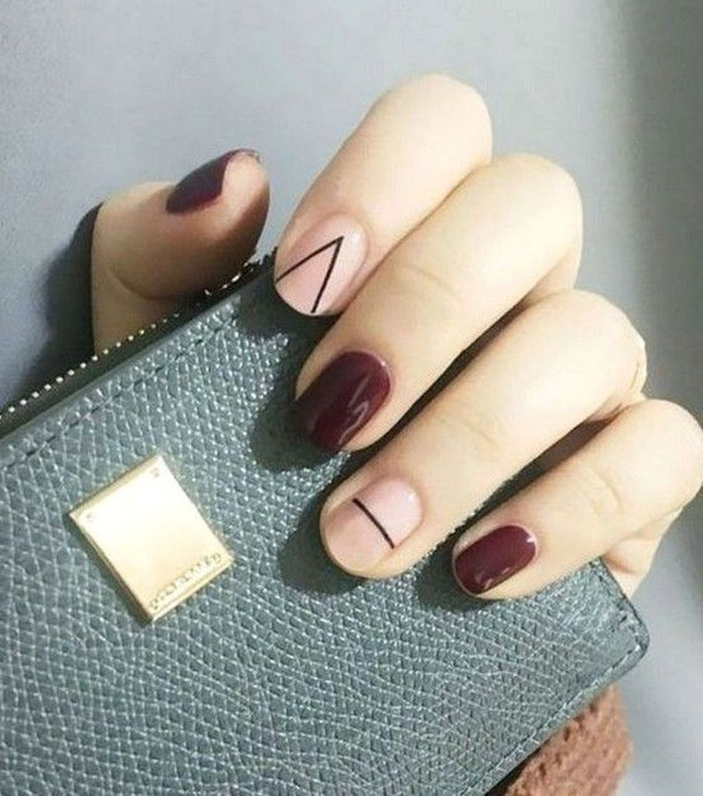 30 Adorable Autumn Nail Art Designs Ideas That Looks Cool Manikura Barva Nehtu Pekne Nehty