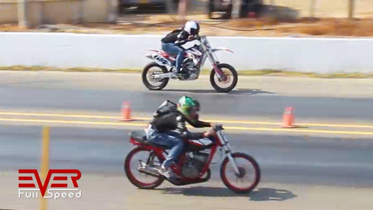 Yamaha Yzf 250 Vs Yamaha Rx King 135 Motos 14 Seg 3ra Valida Piques Barranquilla Drag Race Youtube