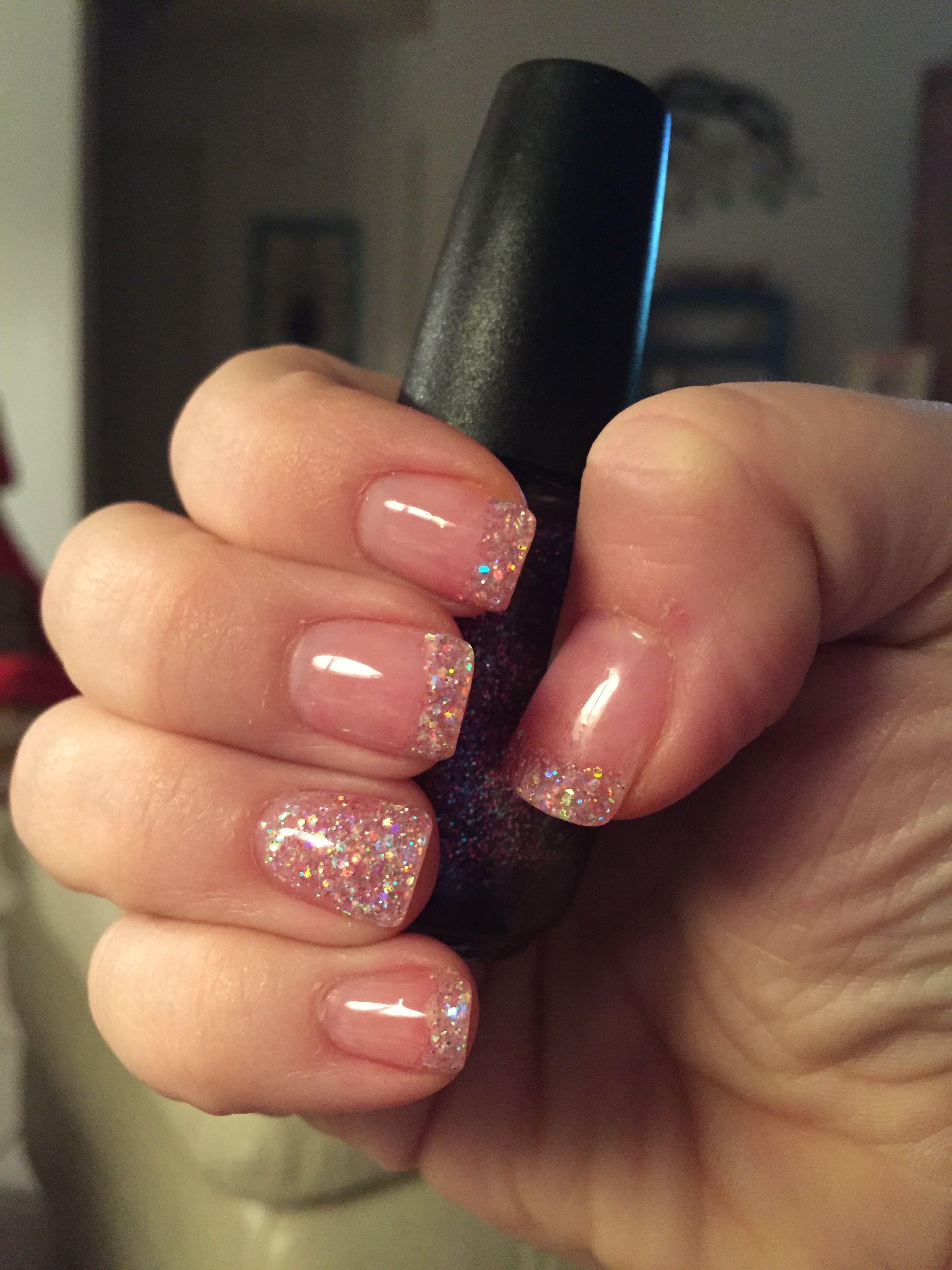 Glitter Solar Nails Glitter Solar Nails Solar Nails Gold Nails