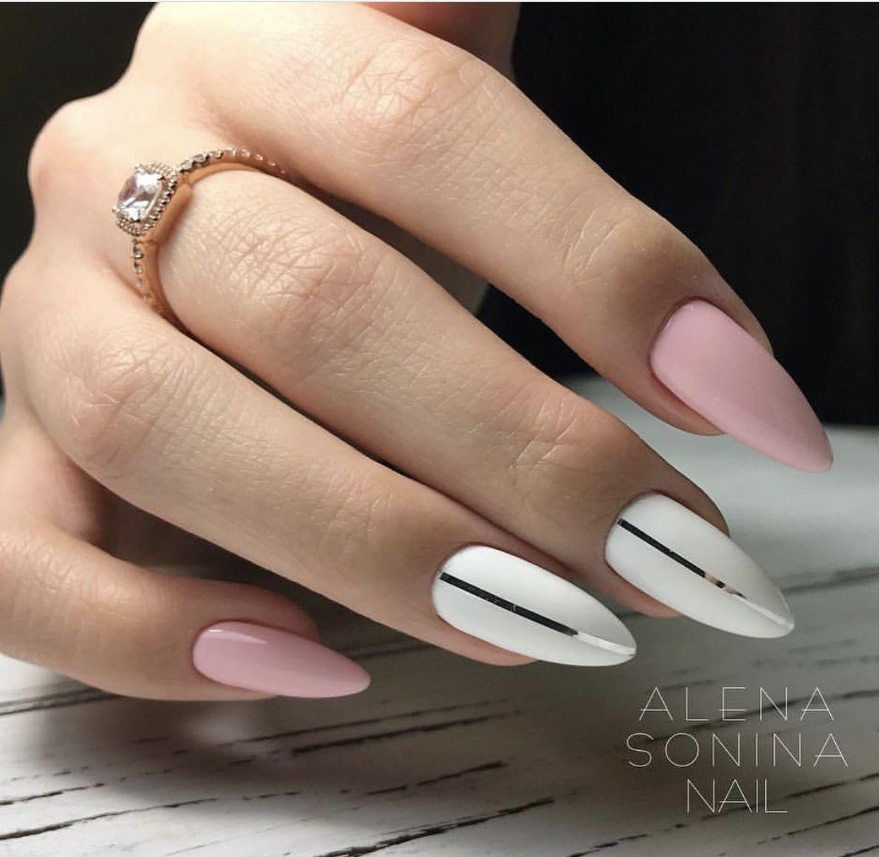 Pin De Eliska Rybakova En Vlasy Manicura De Unas Unas Redondas Gel De Unas