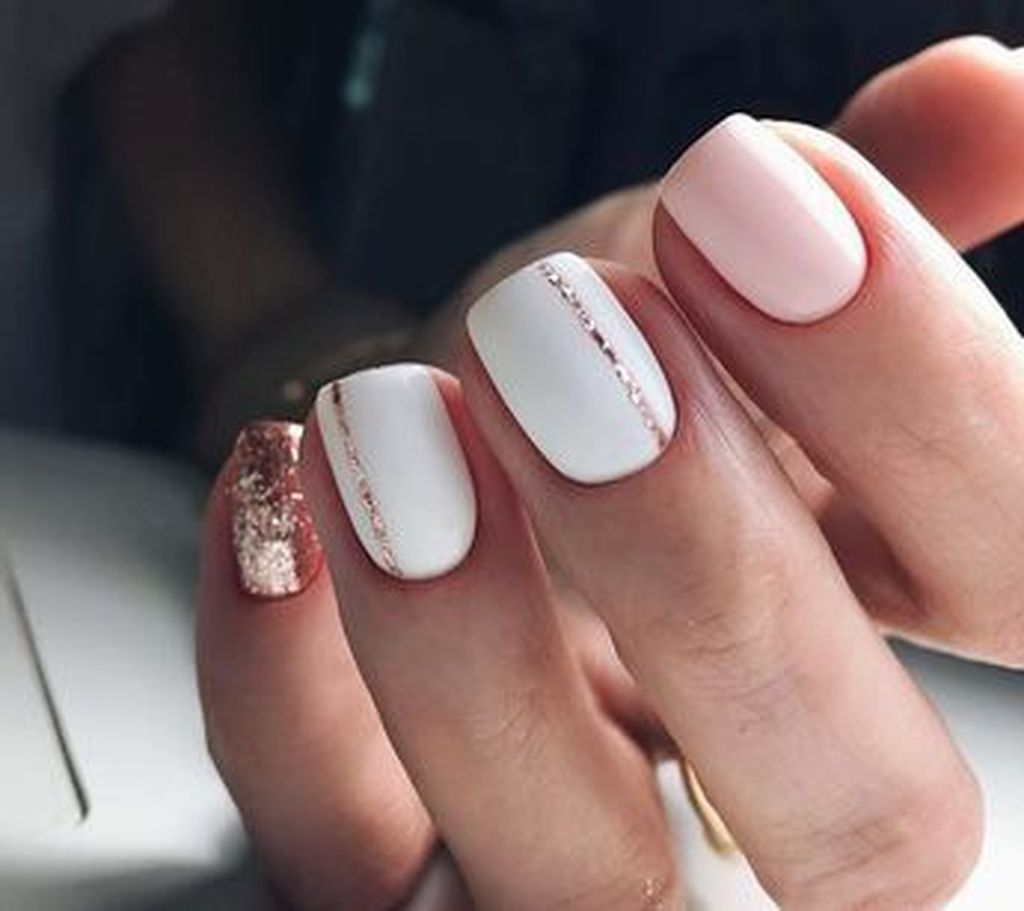 42 Popular Nail Color Ideas For Spring Trend 2018 With Images Gelove Nehty Cervene Nehty Design Nehtu