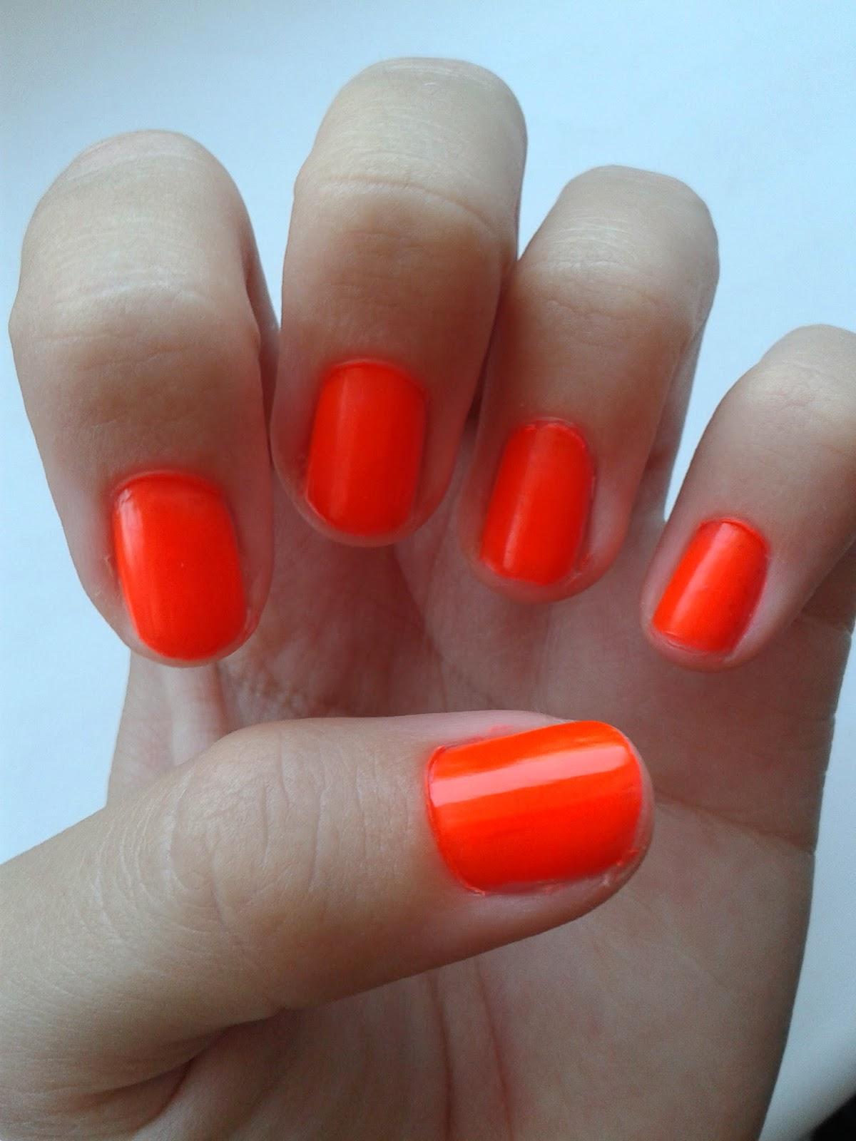 Beauty By Lu Neon Smile Dermacol Neon Lak Na Nehty
