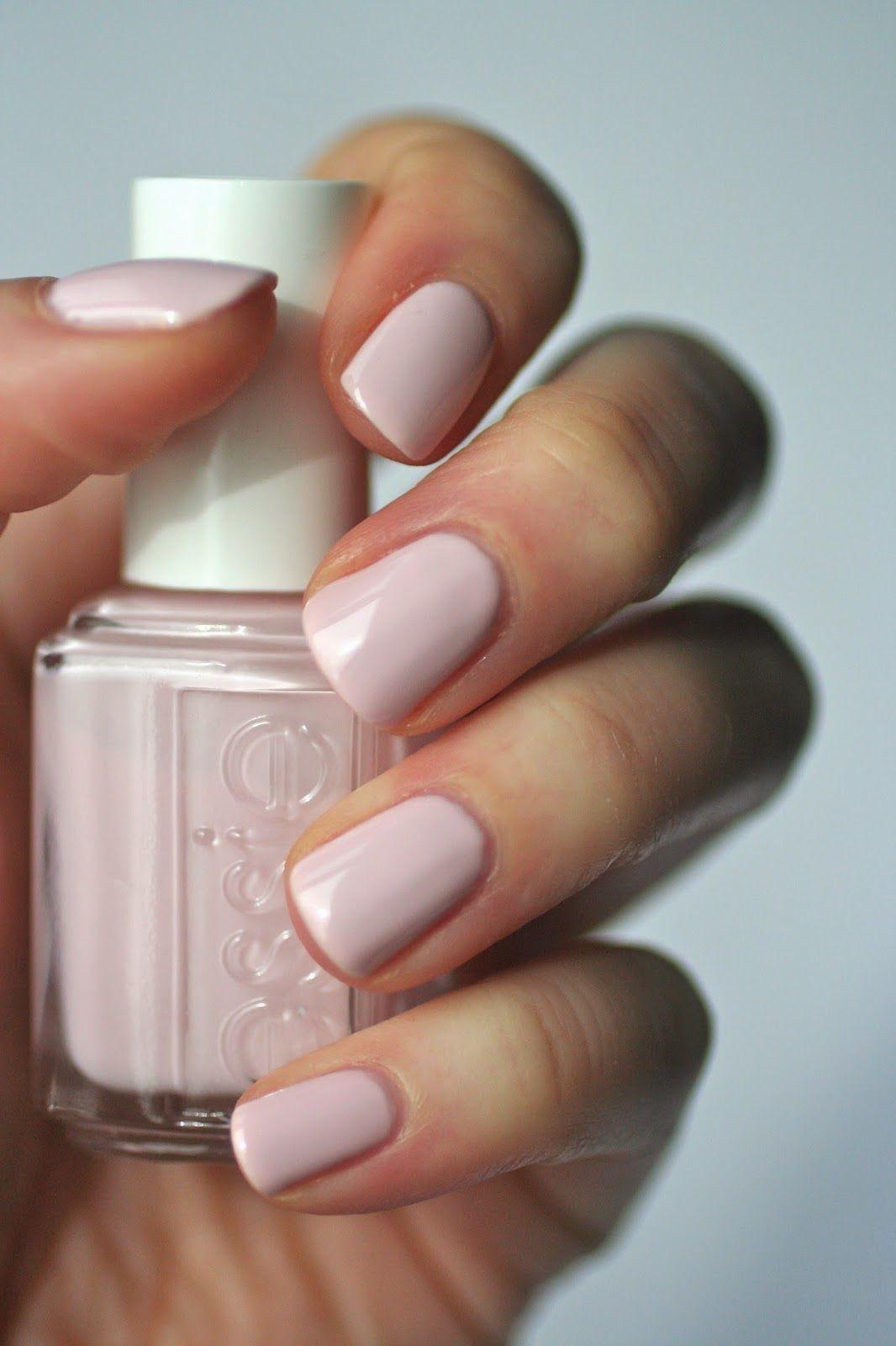 Essie Pale Pink Comparison Ballet Slippers Minimalistic Romper Room Fiji Nail Colors Manicure Essie Nail