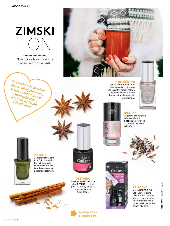 Active Beauty Revija December By Dm Drogerie Markt Slovenija Issuu