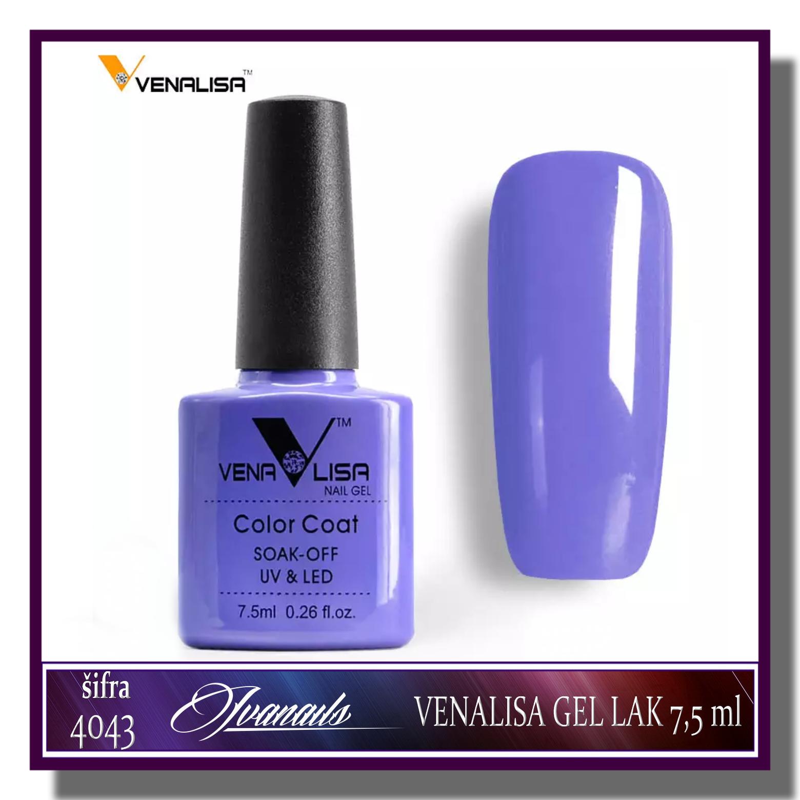 Venalisa Gel Lakovi 4043 Ivanails Cosmetic Shop