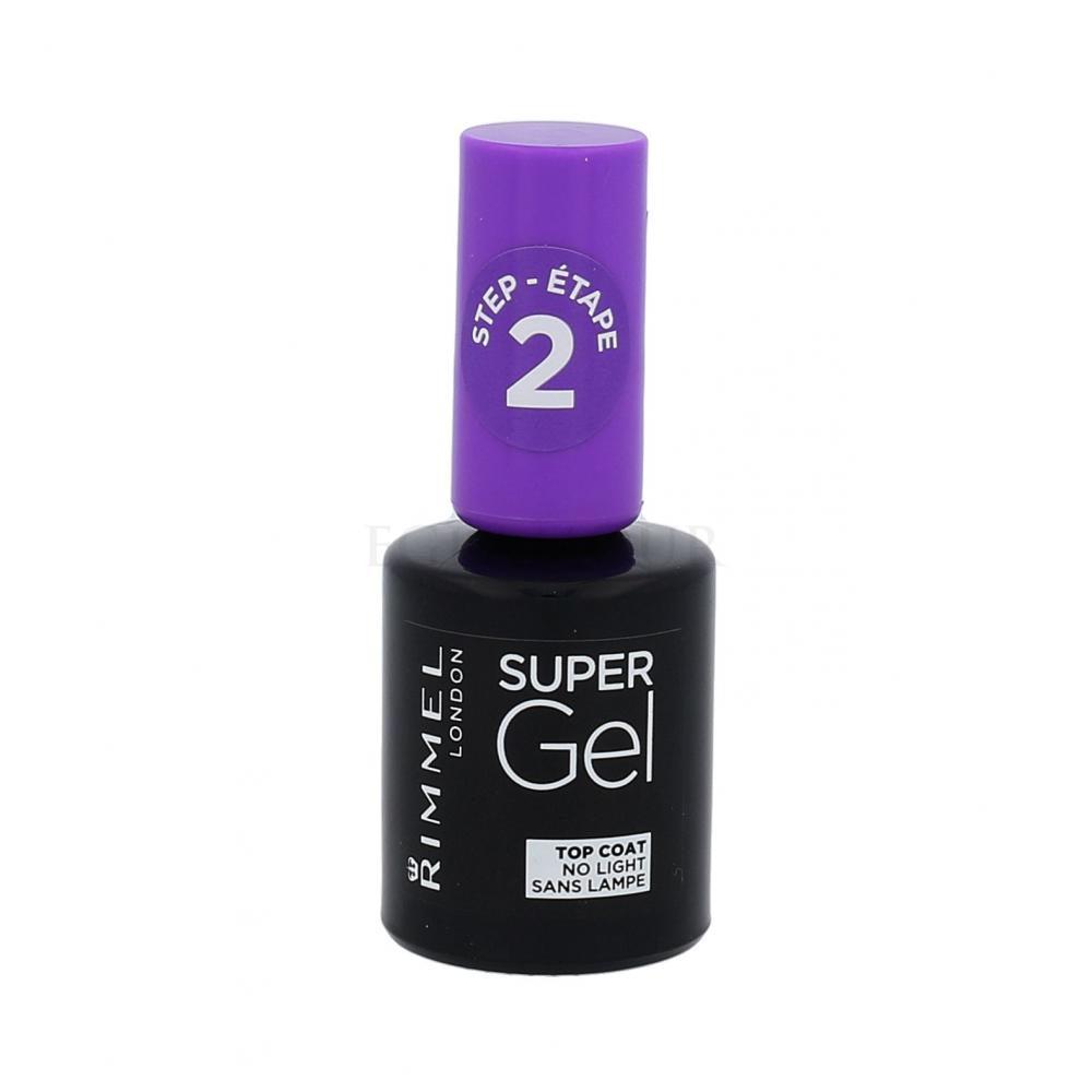 Rimmel London Super Gel Top Coat Lakiery Do Paznokci Dla Kobiet Perfumeria Internetowa E Glamour Pl