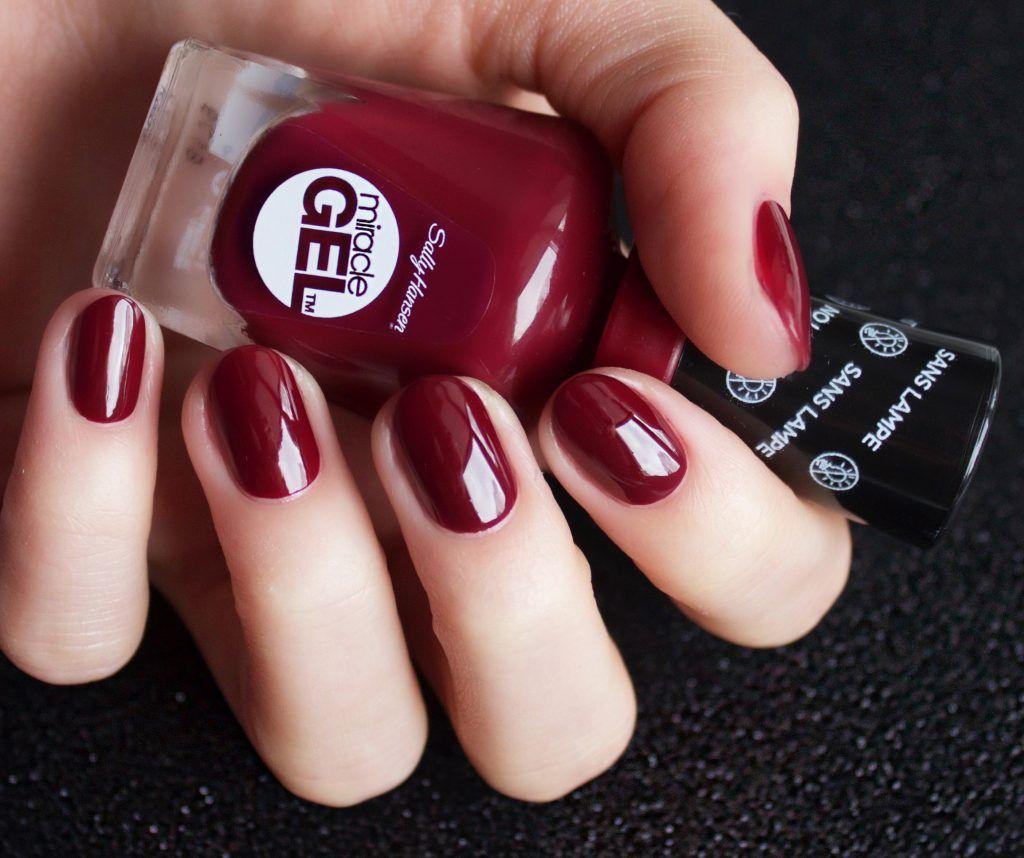 Holiday 2016 Nail Art Ideas Sally Hansen Miracle Gel Sally Hansen Gel Nails Sally Hansen Miracle Gel Colors
