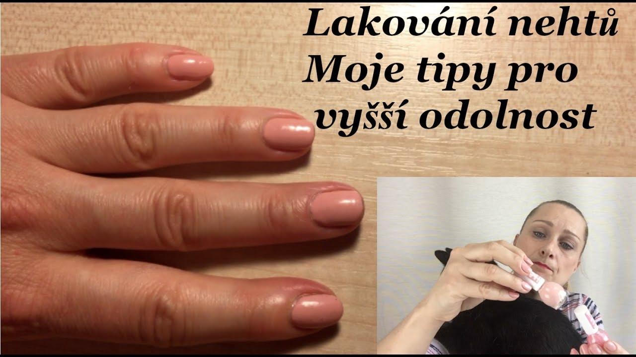 Tipy Pro Odolne Lakovani Nehtu Klasickymi Laky Youtube