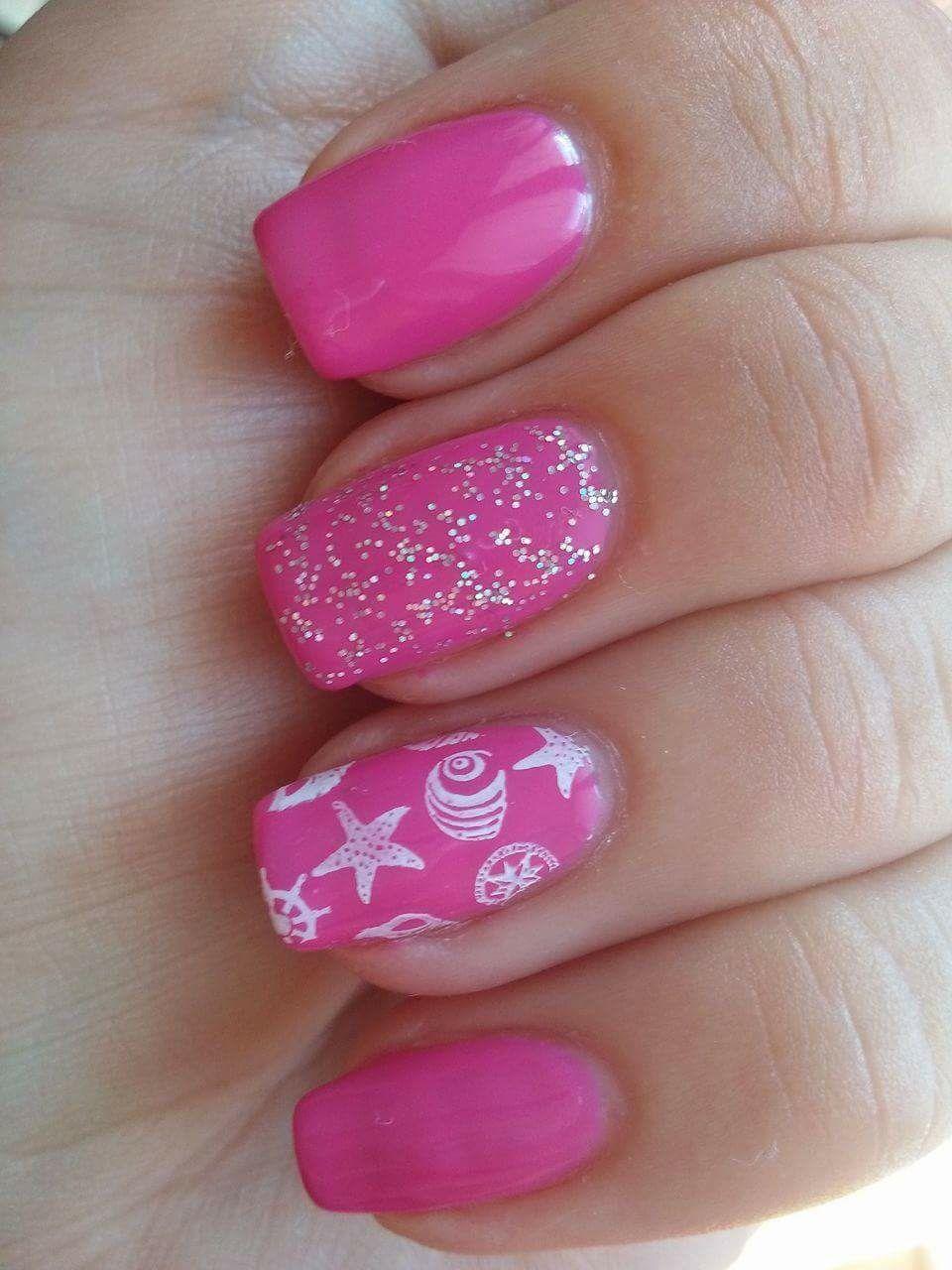 Summer Nails Letni Nehty Summer Nails Nails Nail Art