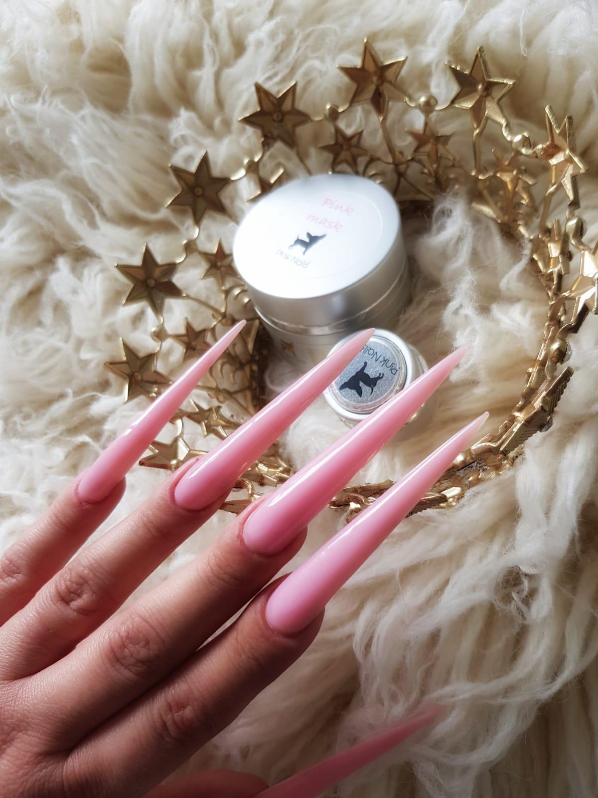 Uv Gel Pink Mask Babyboomer Gel Mlecny Ruzovy Jednofazovy 50ml Produkty Pro Nehtovy Design