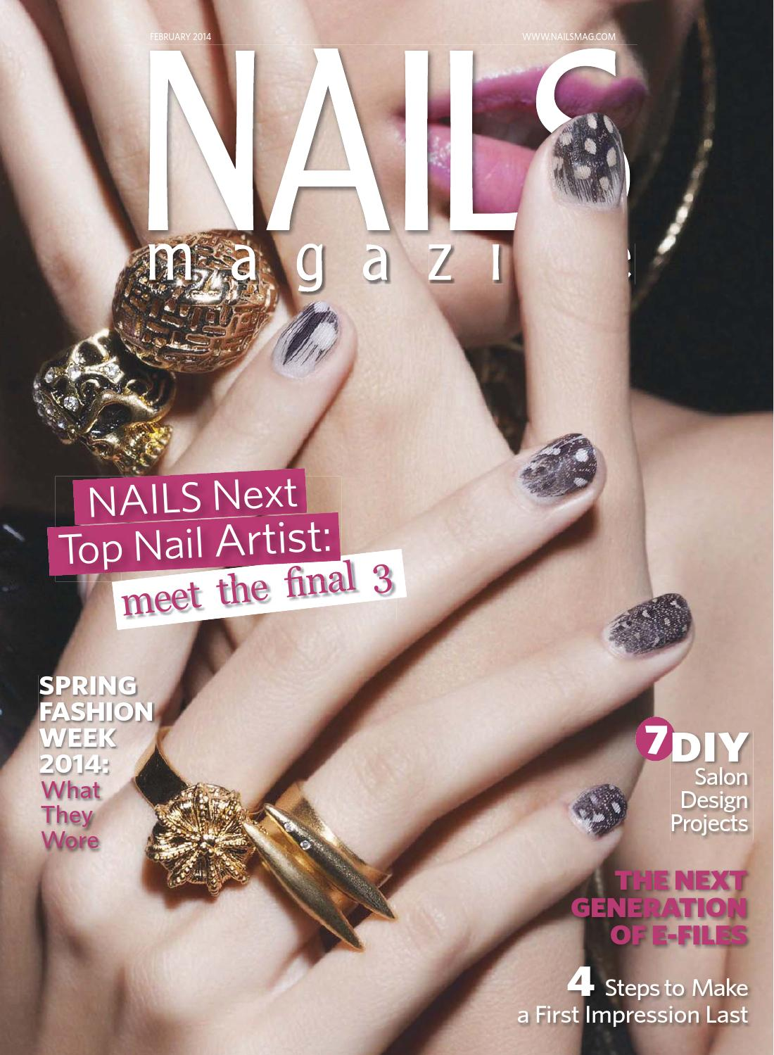 Nails Magazine 2014 02 By Reforma Nails Cz Issuu