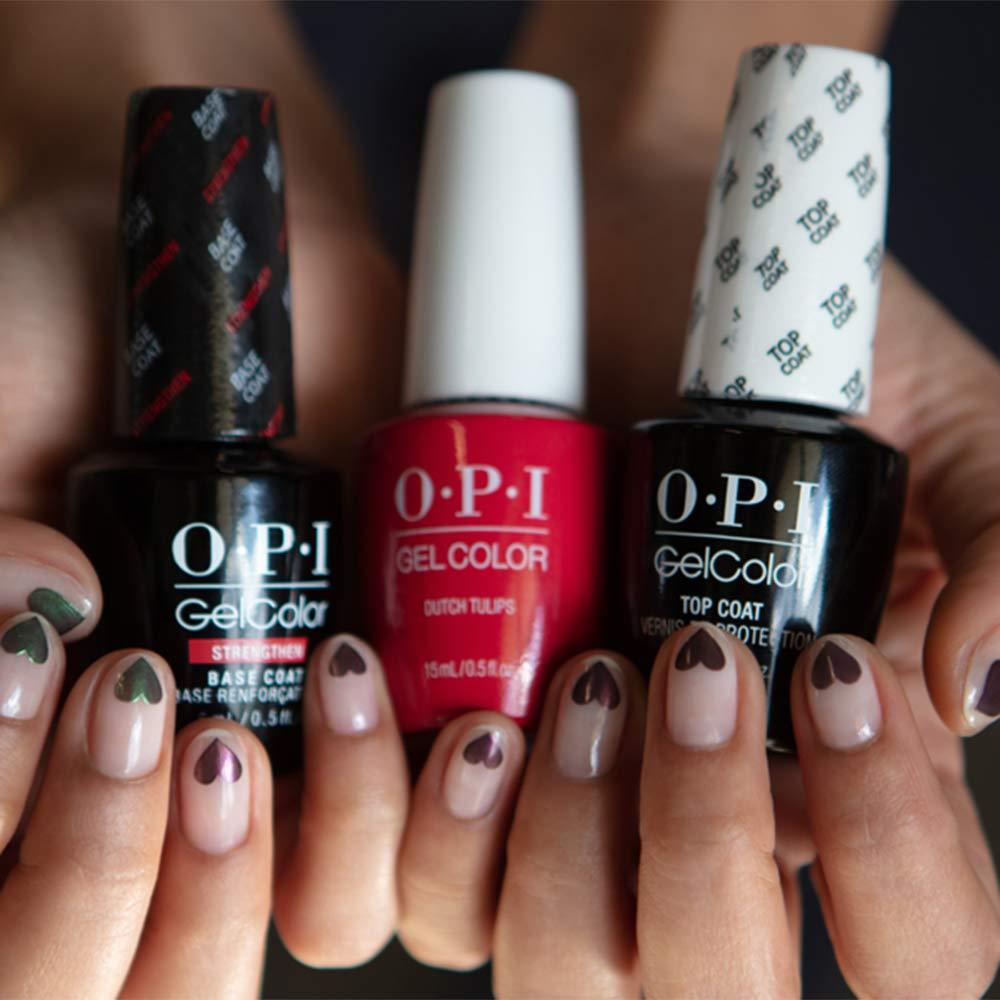 Amazon Com Opi Gelcolor Clear Top Coat Gel Nail Polish Top Coat Premium Beauty