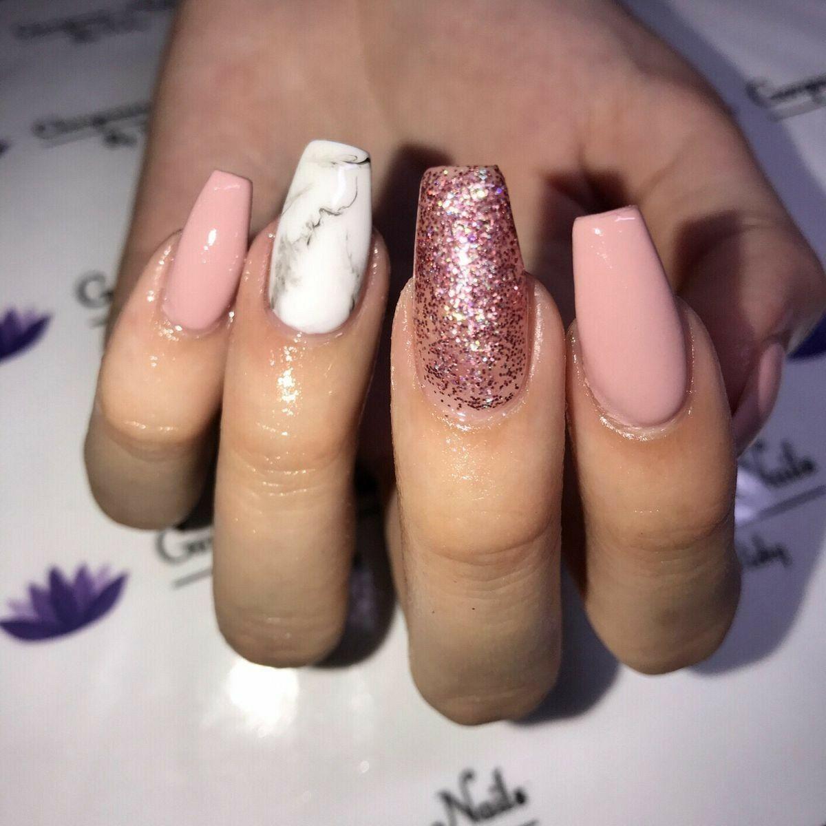 57 Marble Nail Art Design Useful For Everyone Gelove Nehty Nehty Pedikura