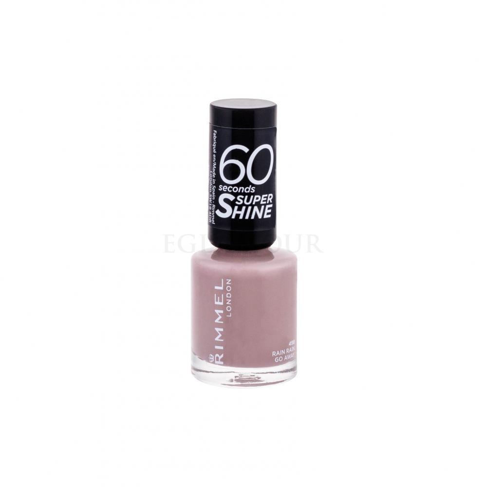 Rimmel London 60 Seconds By Rita Ora Lakier Do Paznokci Dla Kobiet 8 Ml Odcien 498 Rain Rain Go Away Perfumeria Internetowa E Glamour Pl