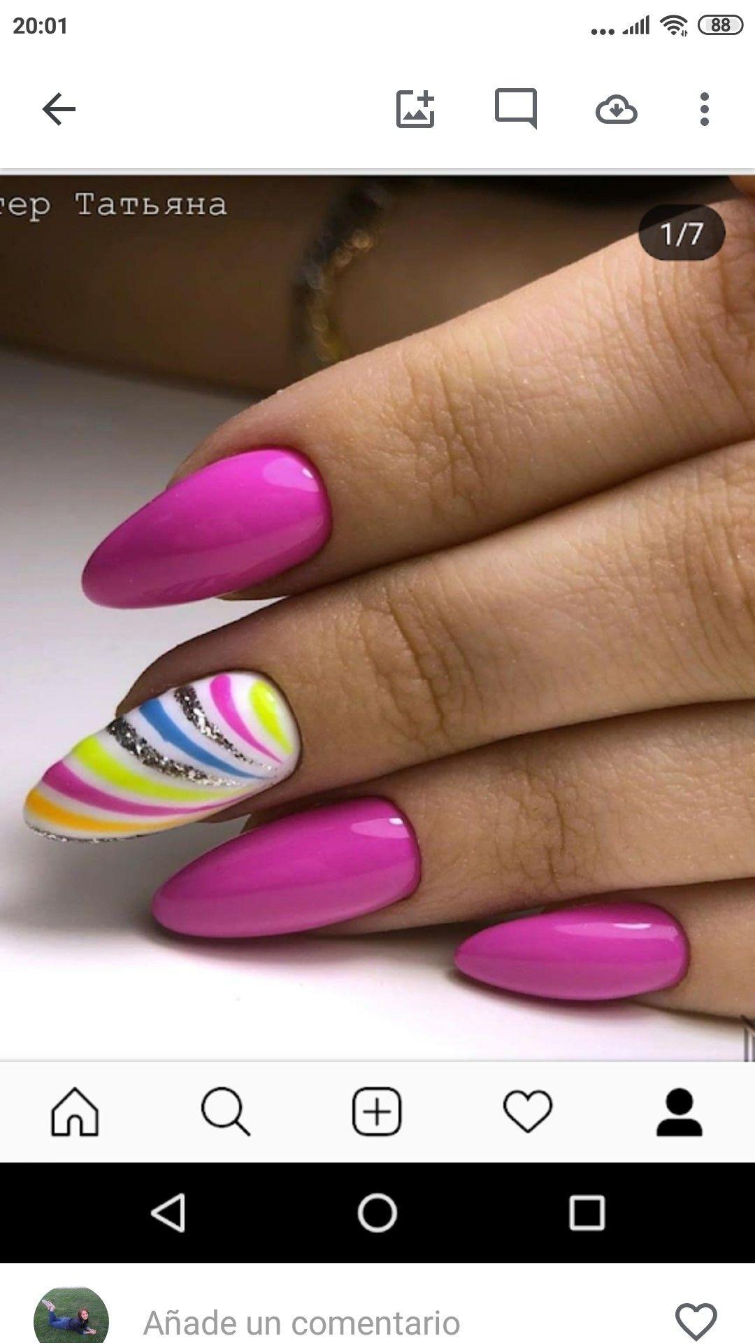 Pin By Alena Hanzlikova On Primavera Verano Pink Nails Pretty Nails Acrilic Nails