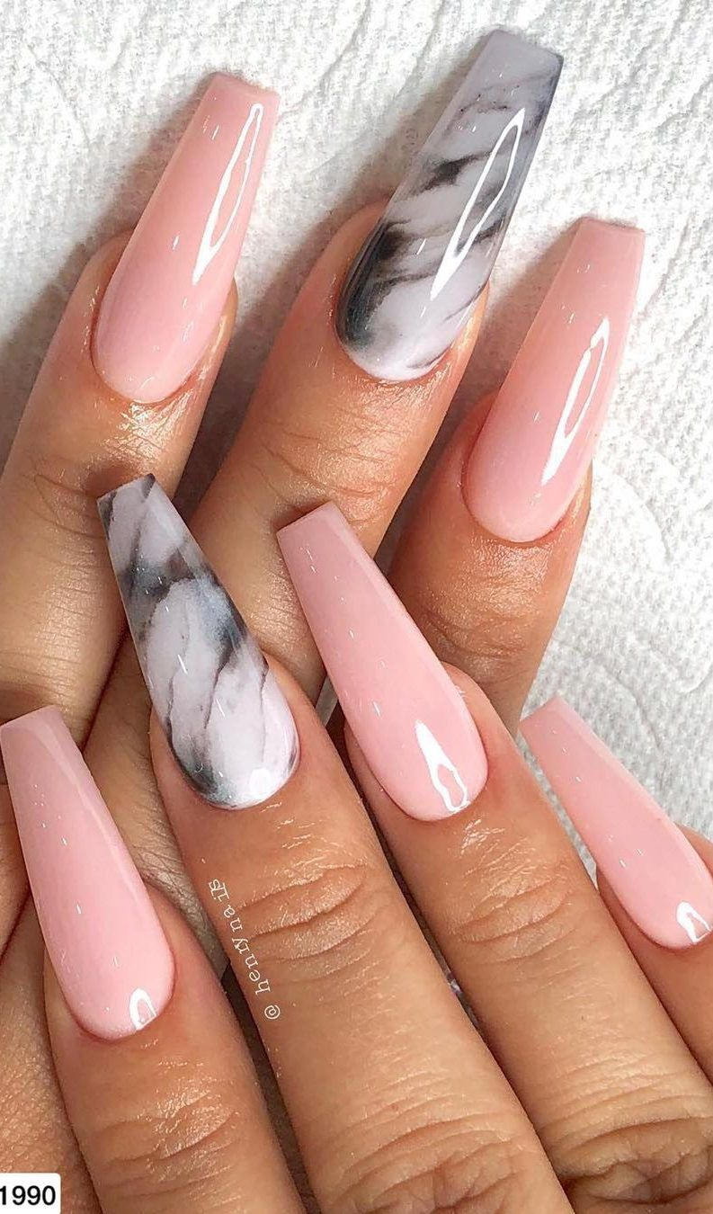 31 Glamour And Cute Ombre Nails Designs Ideas For 2019 Page 30 Of 32 In 2020 Gelove Nehty Design Nehtu Barevne Nehty
