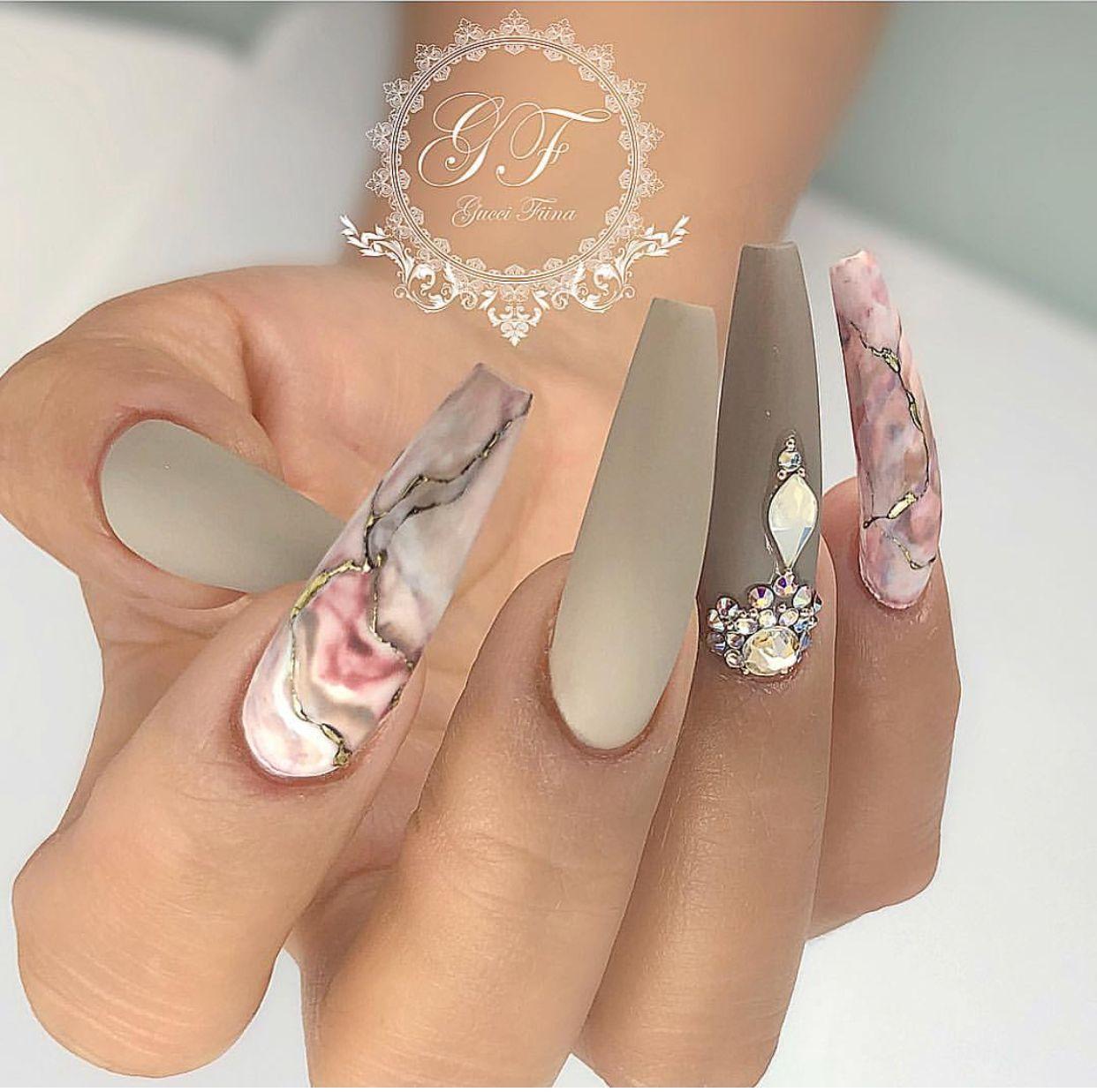For More Nail Pins Like This Follow Kebay Beautiful Nails Spring Nail Art Stiletto Nails