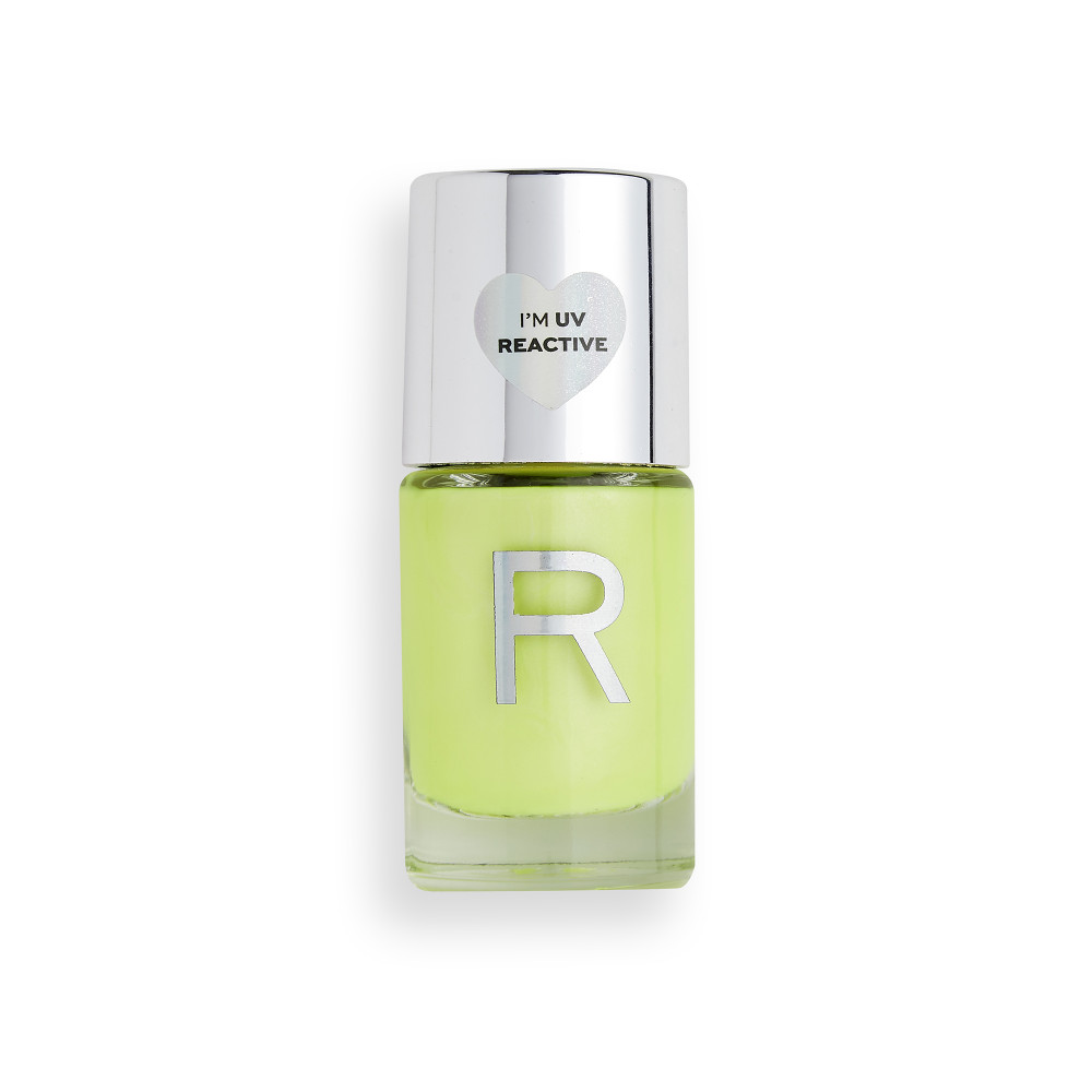 Revolution Neon Glow Nail Polish Yellow Tropic Pink Panda