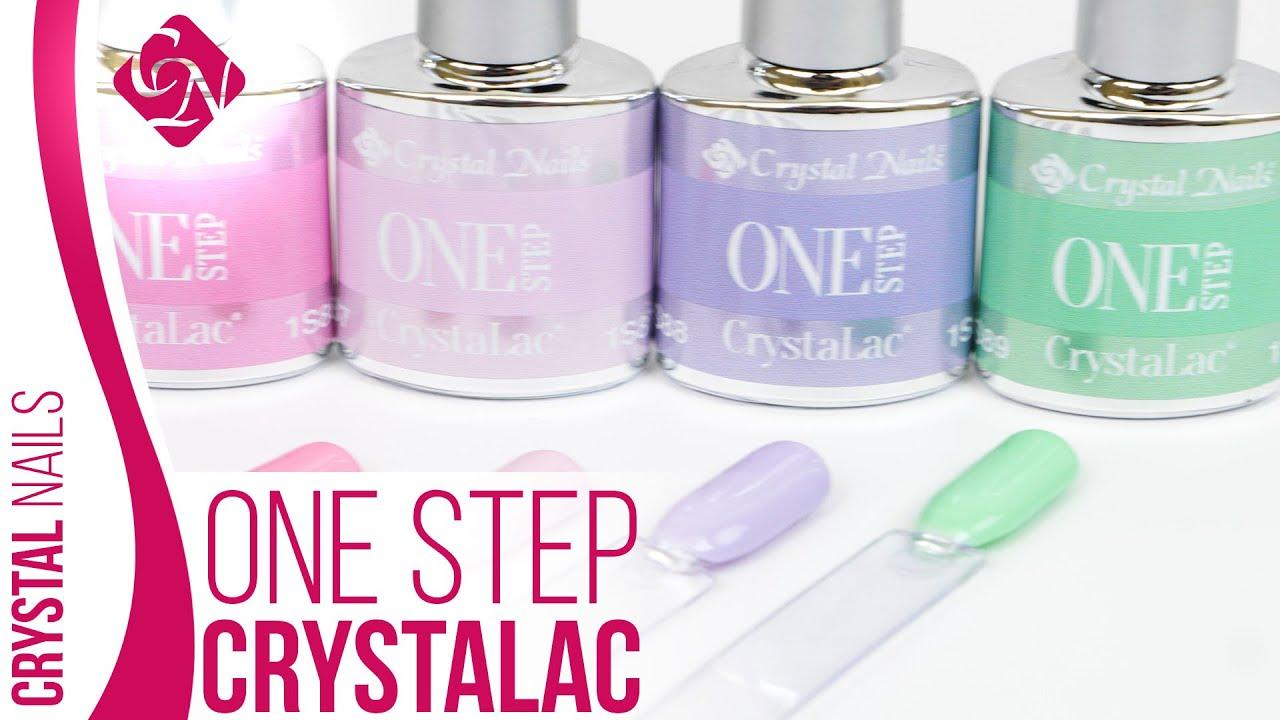 Crystal Nails One Step Crystalac Trendszinek 2020 Tavasz Nyar Youtube