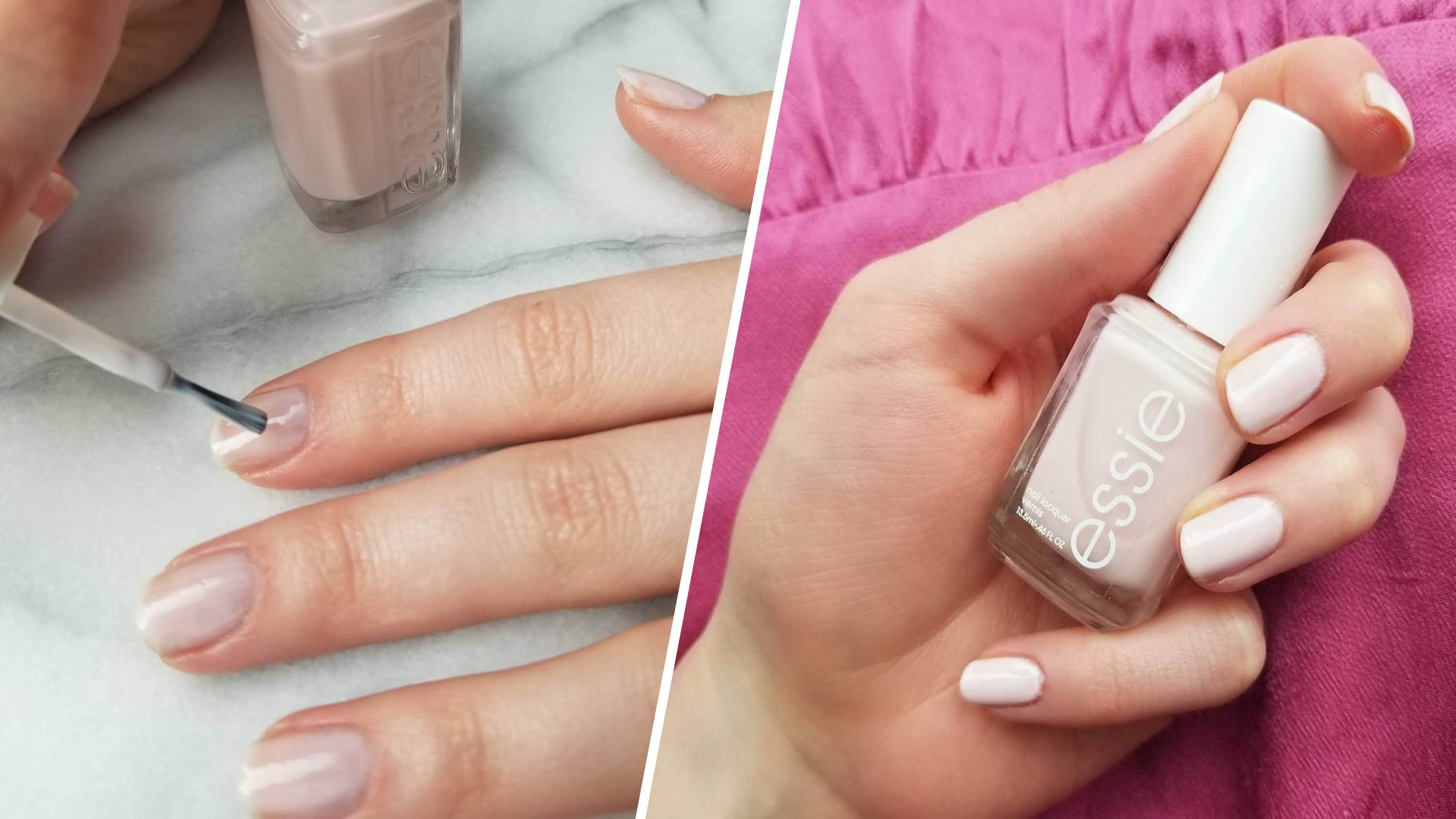 Essie Ballet Slippers Is The Prettiest Sheer Pink Nail Polish Ever Review Allure