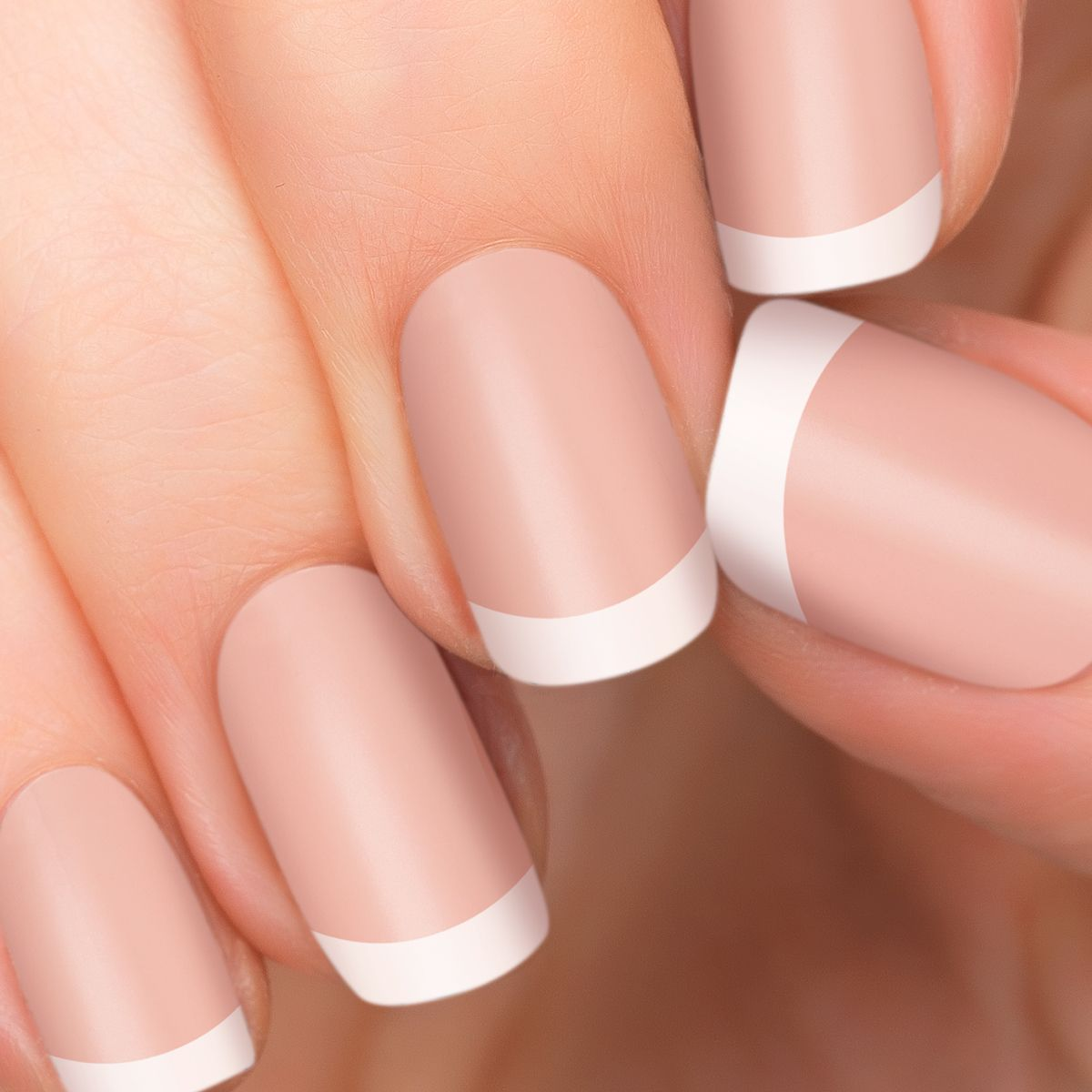 Perfect French Tips For Gel Nails With Images
