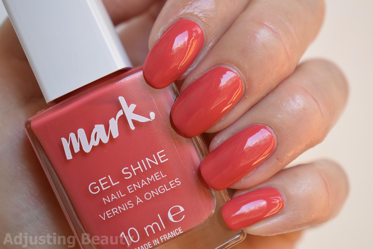 Review Avon Mark Gel Shine Nail Enamel Fall 2017 Shades Adjusting Beauty