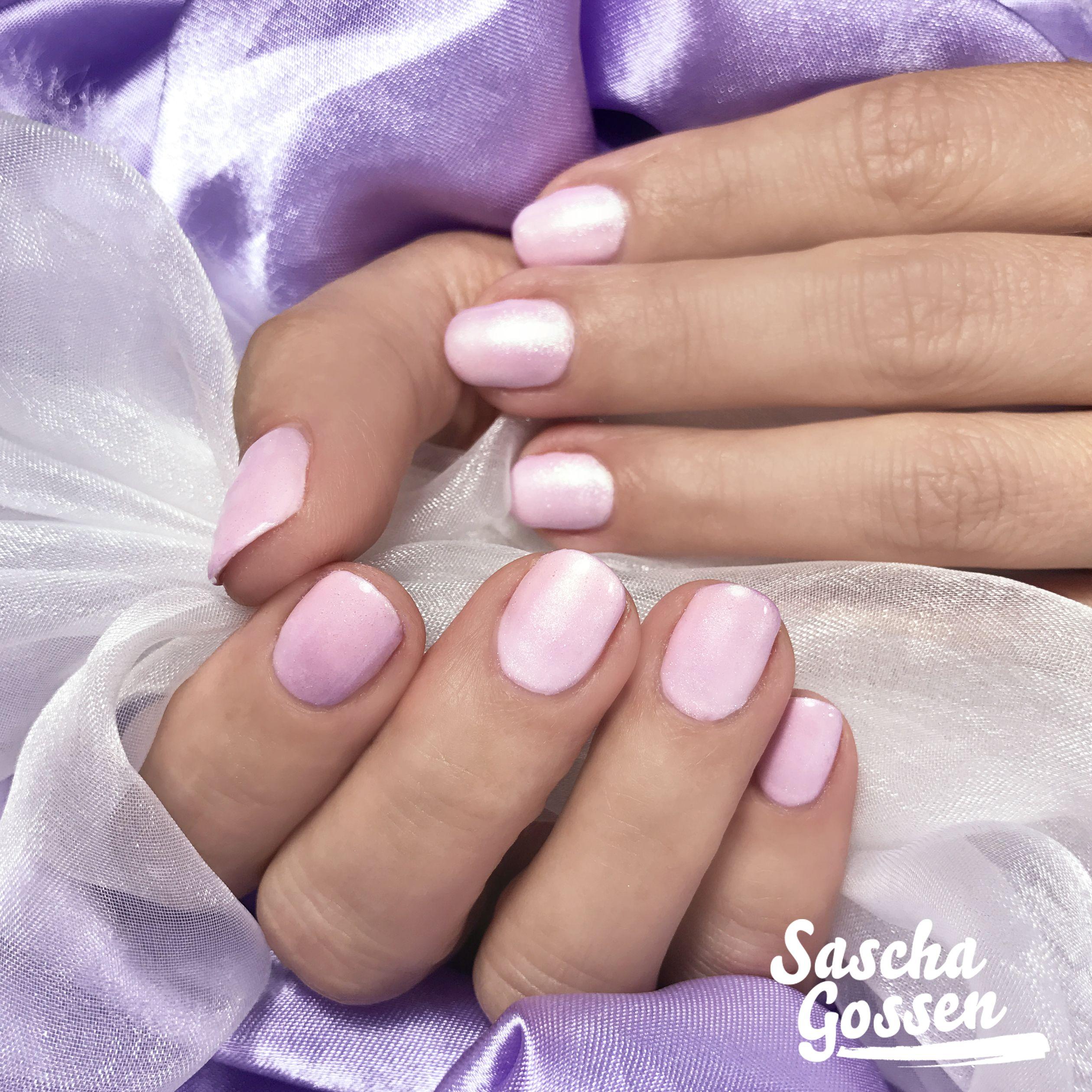 Shiny Pink Natural Nails With Cnd Shellac Winter Glow And Cnd Additives Nectar Glaze Nails2inspire Instanails Inspirat Cnd Nails Swag Nails Pink Nails