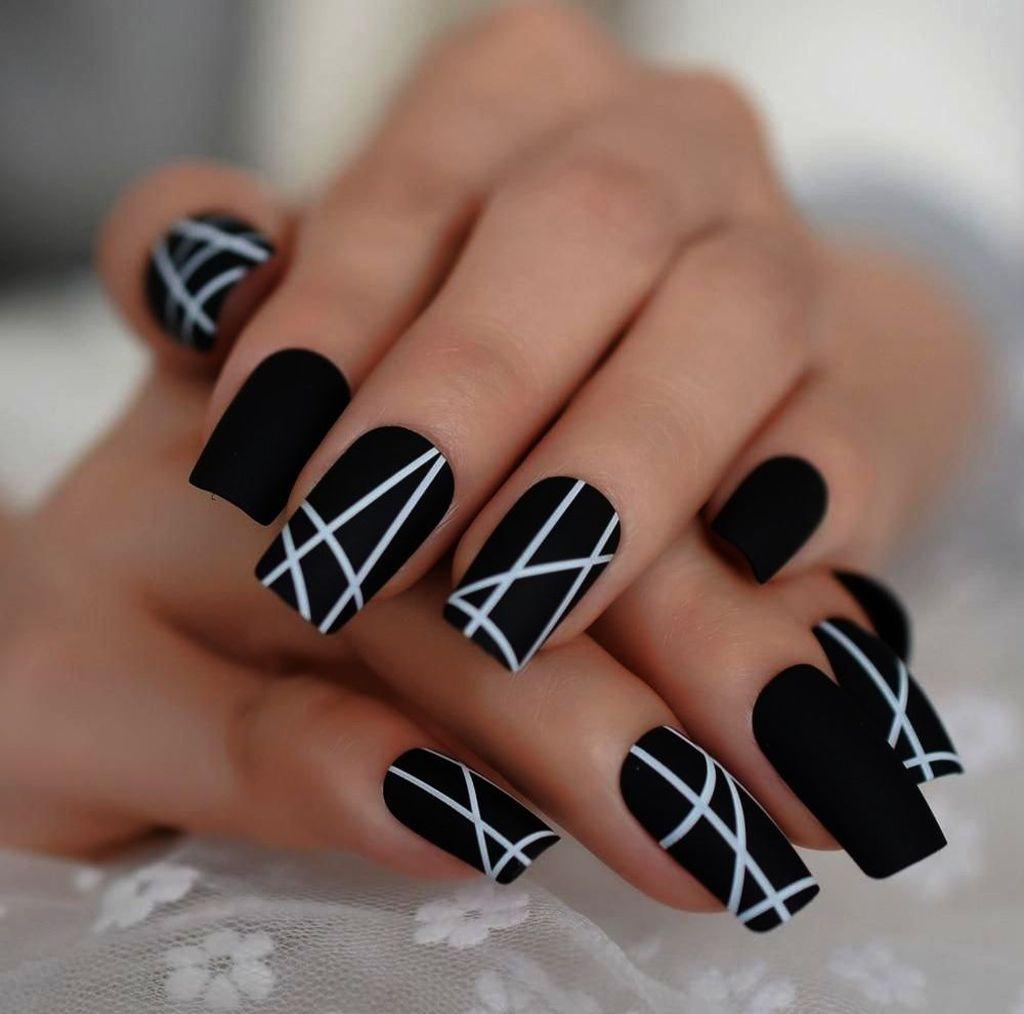 46 Inspiring Winter Nail Art And Designs Vzory Na Akrylove Nehty Barva Nehtu Pekne Nehty