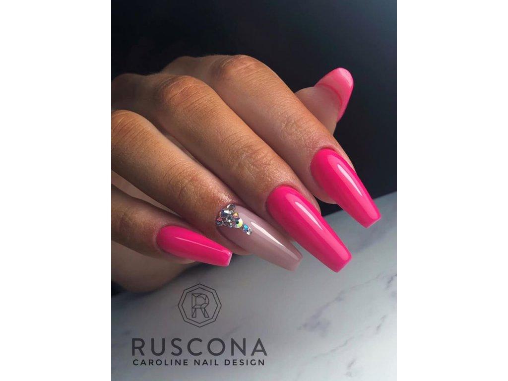 Uv Led Gellak Neon Pink 029 Ruscona Cesko