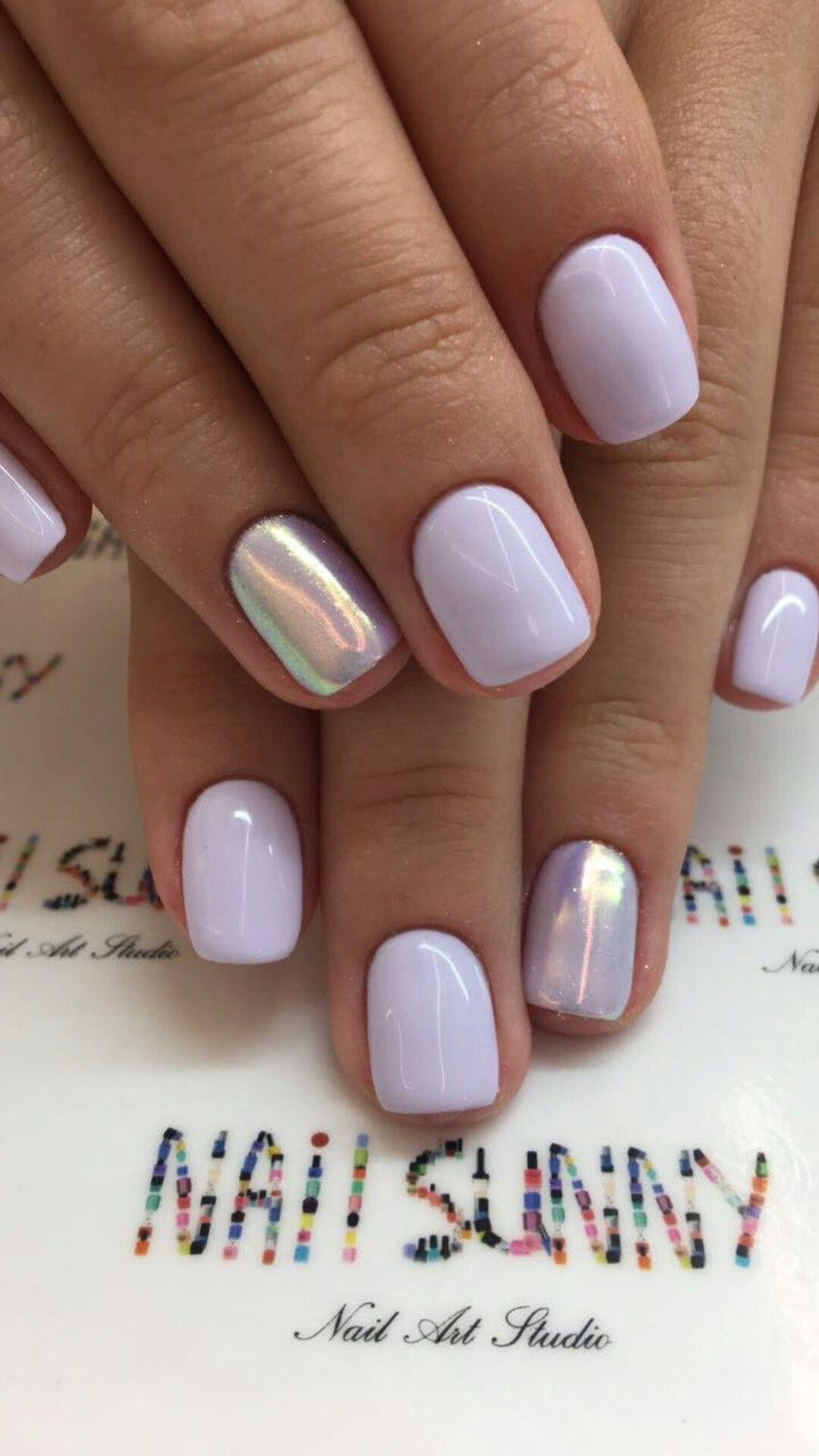 Summer Nails Gelove Nehty Fialove Nehty Design Nehtu