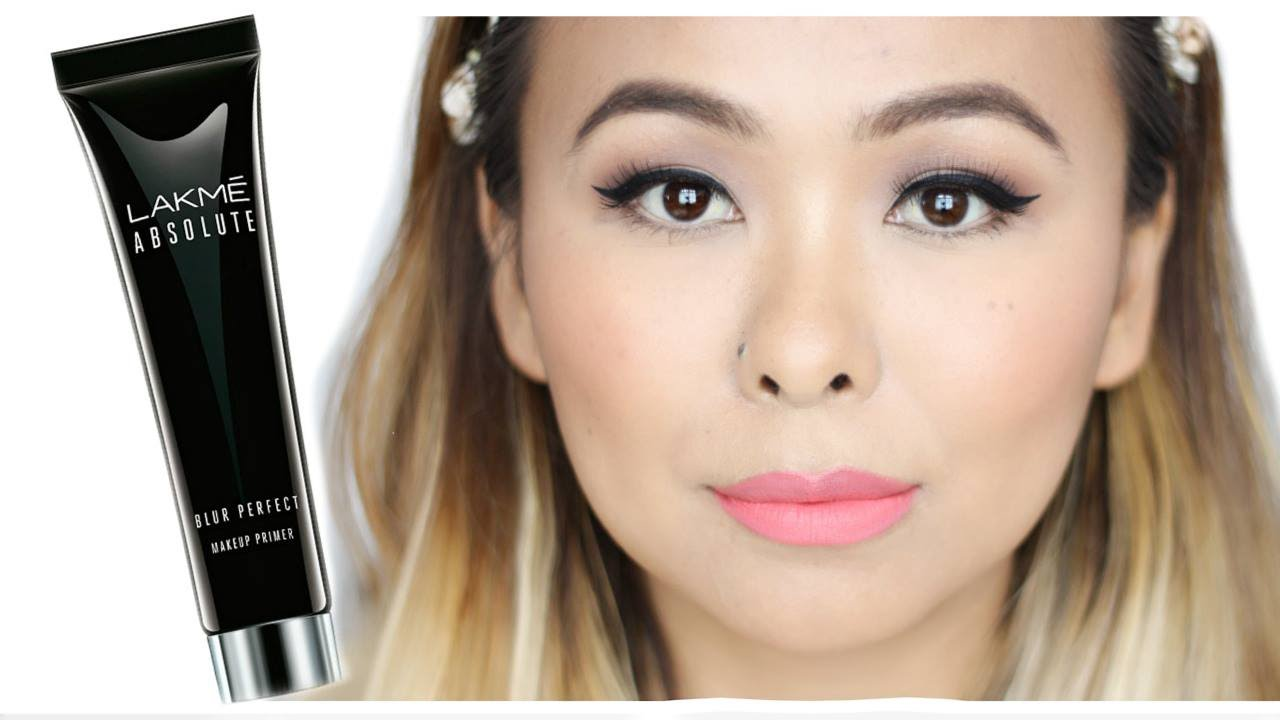 Lakme Absolute Blur Perfect Makeup Primer Review Demo Youtube