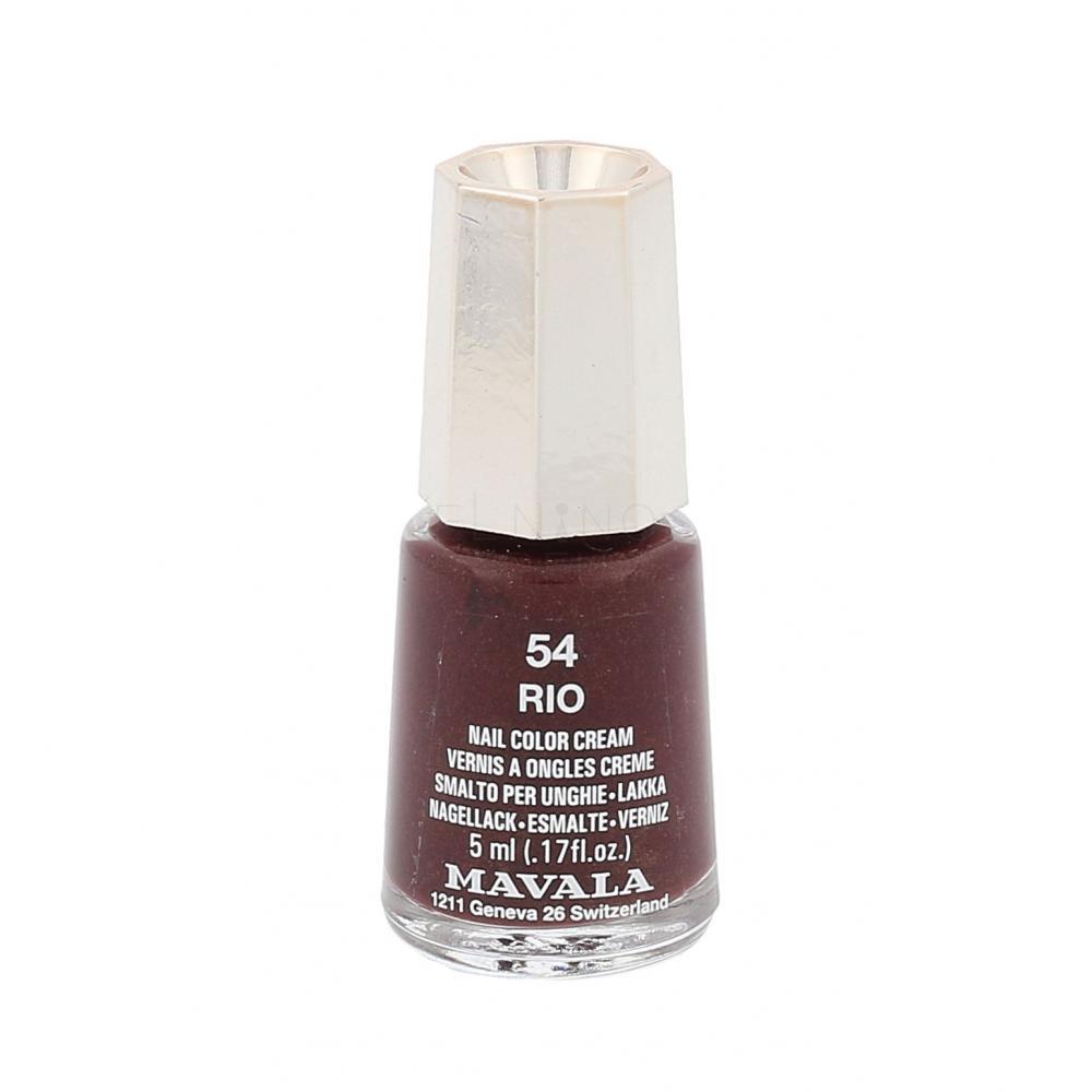 Mavala Mini Color Lakier Do Paznokci Dla Kobiet 5 Ml Odcien 54 Rio Elnino Parfum