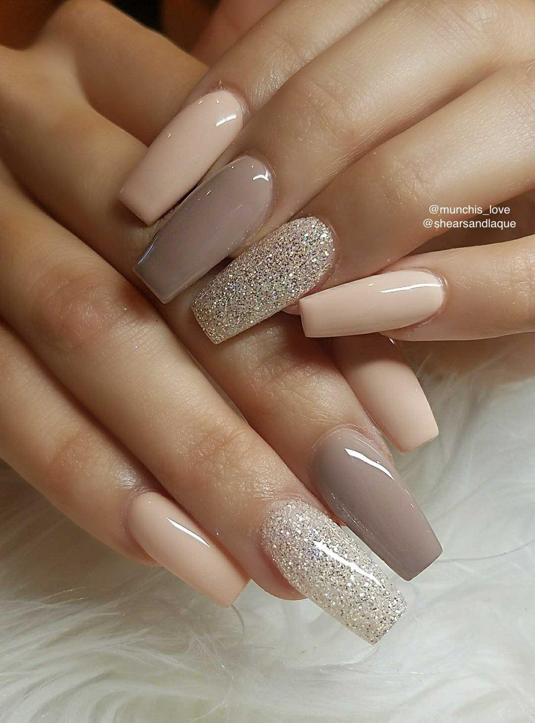 Pin By Monika Iskova On Unhas Neutral Nail Designs Neutral Nails Gorgeous Nails
